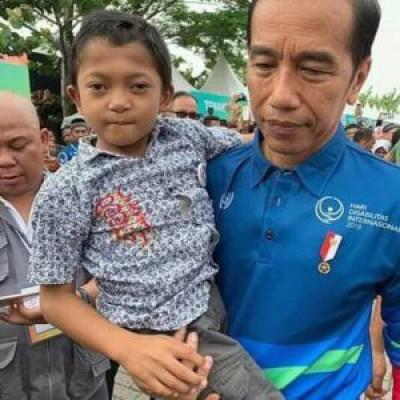 Hari Disabilitas Internasional Presiden Jokowi Ke Kota Bekasi ...