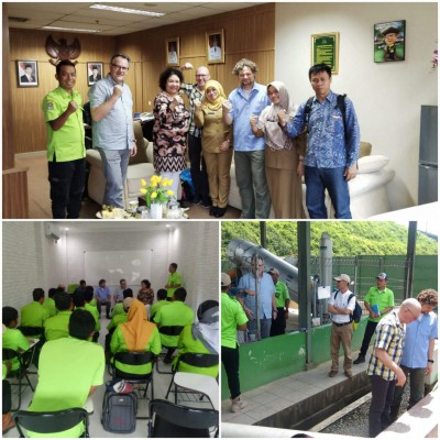 Program Water Operator Partnership UPTD PALD Disperkimtan-Waternet Belanda