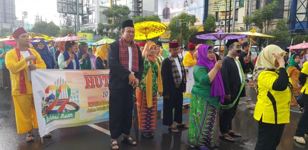 Pawai Defile Disperkimtan Dalam Rangka HUT Kota Bekasi Ke 22 (1)