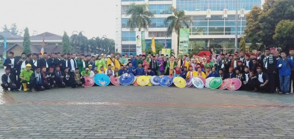 Pawai Defile Disperkimtan Dalam Rangka HUT Kota Bekasi Ke 22 (2)