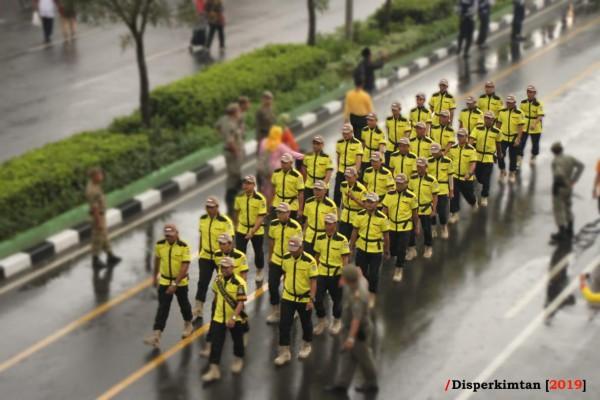 Pawai Defile Disperkimtan Dalam Rangka HUT Kota Bekasi Ke 22 (3)