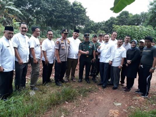 Kunjungan Wali Kota Bekasi Ke Lahan Yang Akan Di Bangun Polsek Mustika Jaya