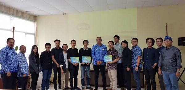 Acara Penilaian Sayembara Design Bekasi Creatif Center Lapangan Multiguna Kota Bekasi.