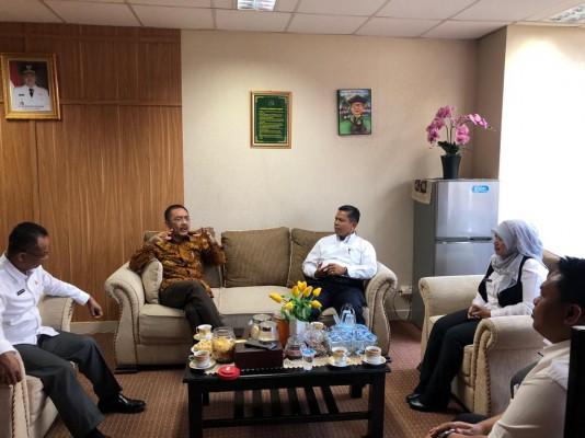Staf Khusus Wakil Presiden Bidang Infrastruktur Dan Investasi Melakukan Kunjungan Ke Disperkimtan Ko