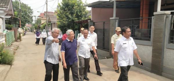 Survey Dan Sosialisasi Program Kegiatan Disperkimtan Kota Bekasi Di Kel. Jaka Setia Kec. Bekasi Sela