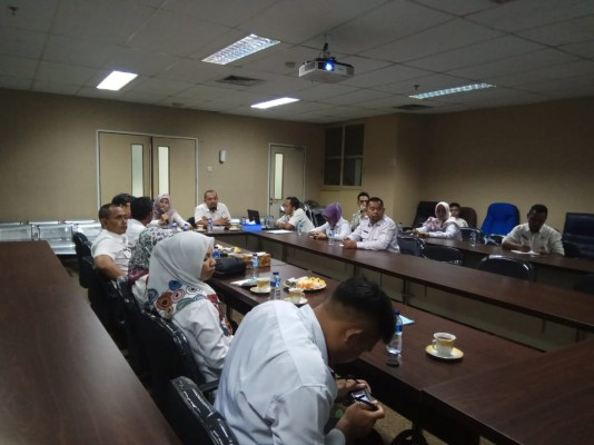Kunjungan Dinas Pertanahan Kab. Banjar Ke Disperkimtan Kota Bekasi