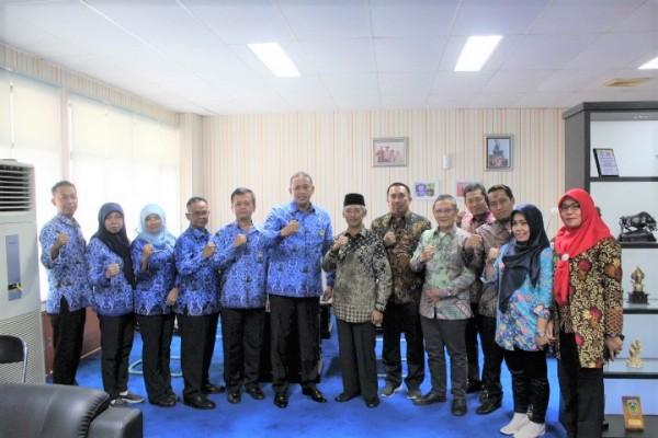 Bupati Pringsewu Lampung Kunjungi Kota Bekasi