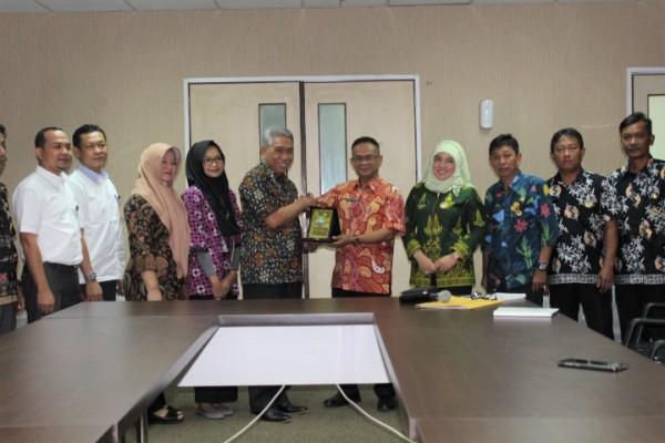 Kunker Tim Pemerintah Kota Batam Ke Disperkimtan Kota Bekasi