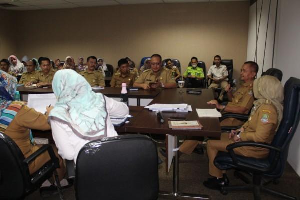 Briefing Pegawai Disperkimtan Dipimpin Oleh Kadis Baru