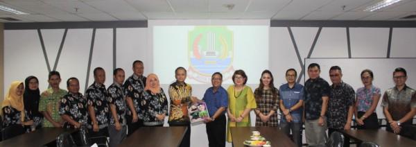 Disperkimtan Kota Bekasi Menerima Kunjungan Kerja Komisi III DPRD Kota Bitung Sulawesi Selatan