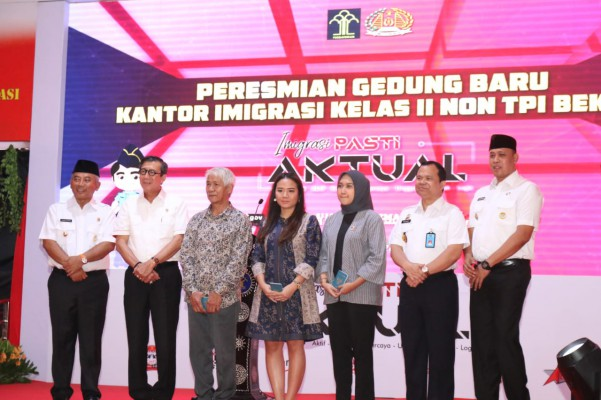 Menkumham Apresiasi Wali Kota Bekasi Atas Di Bangunnya Kantor Imigrasi Kota Bekasi