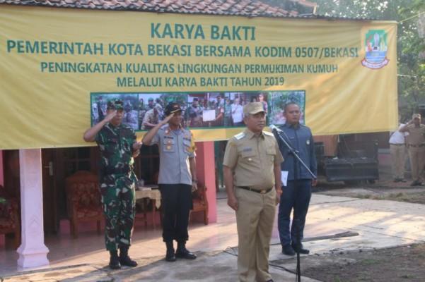 Wali Kota Bersama Dandim Dan Wakapolres Resmikan Penataan Pemukiman Kumuh Karya Bhakti Tahun 2019 ...