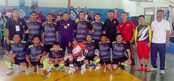 Tim Futsal Disperkimtan Kota Bekasi 2019