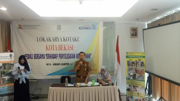 Lokakarya Program Kotaku Kota Bekasi