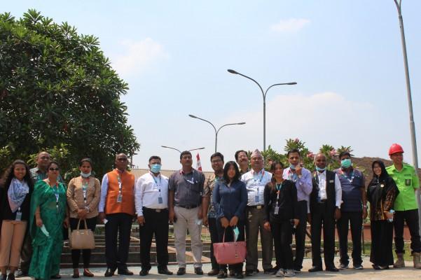 10 Wali Kota Negara Nepal Kunjungi Pengelolaan Limbah Tinja Kota Bekasi