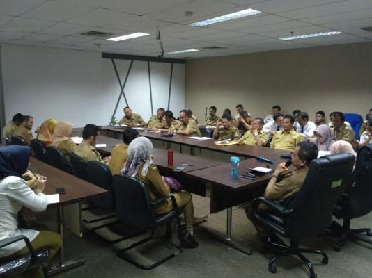 Briefing Aparatur Disperkimtan Kota Bekasi