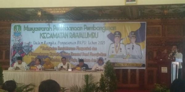 Wawali Kota Bekasi Buka Musrenbang Tingkat Kecamatan Rawalumbu