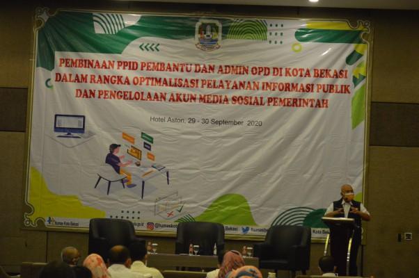 Wali Kota Bekasi : Fungsi Ppid Opd Harus Ditingkatkan ...